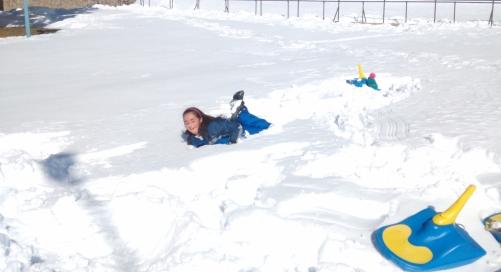 Memi y la nieve.